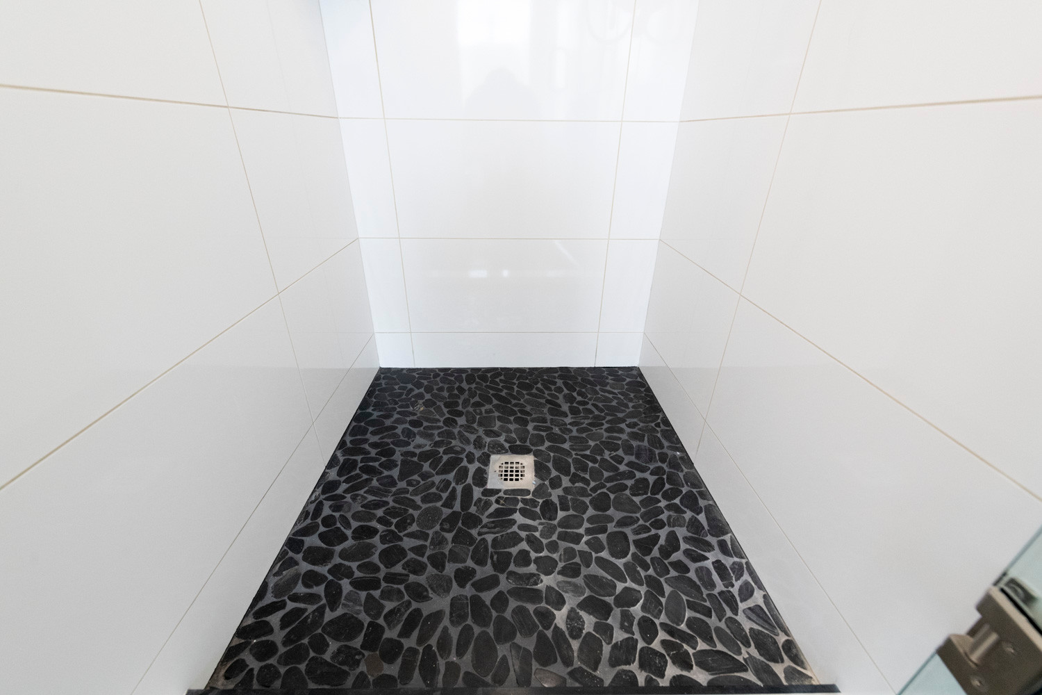 Pebble Shower Floor