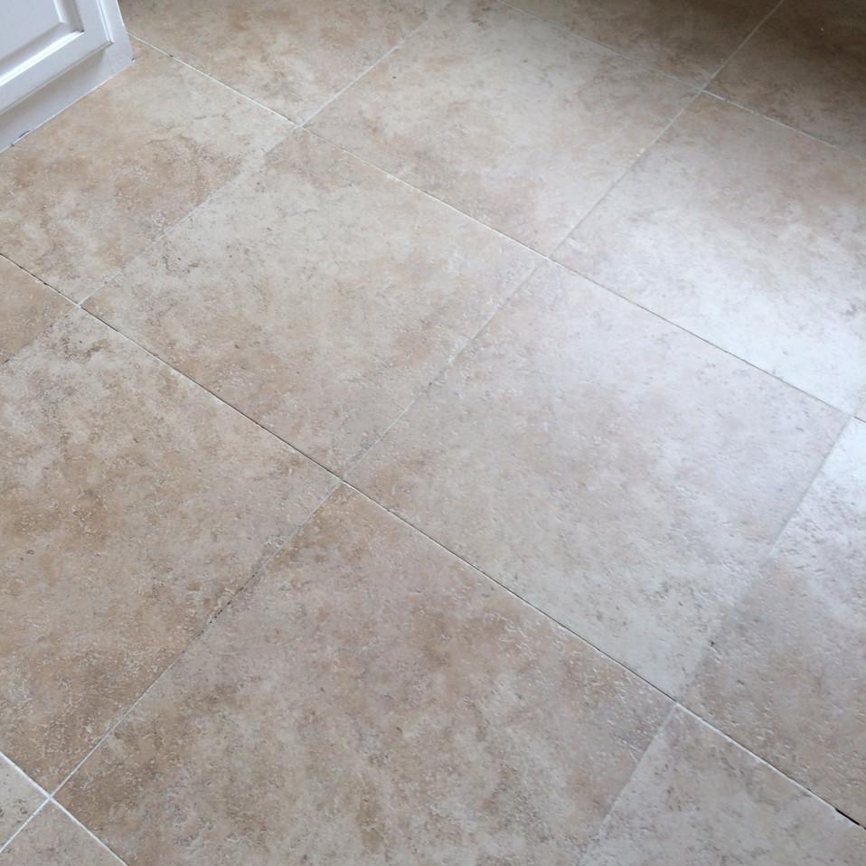 After Clean Tile Flooring