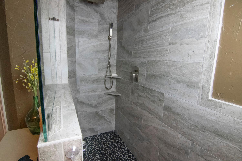 Grey Shower Tile