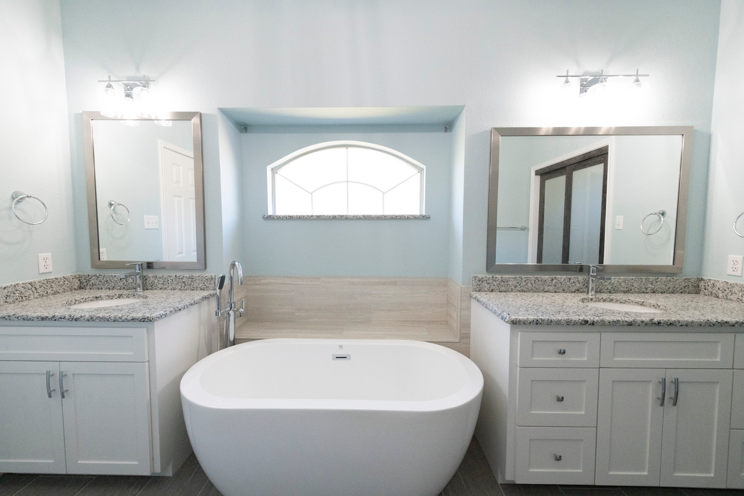 After Photo of Bathroom Remodel