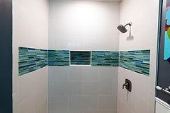 Blue Border Tiles