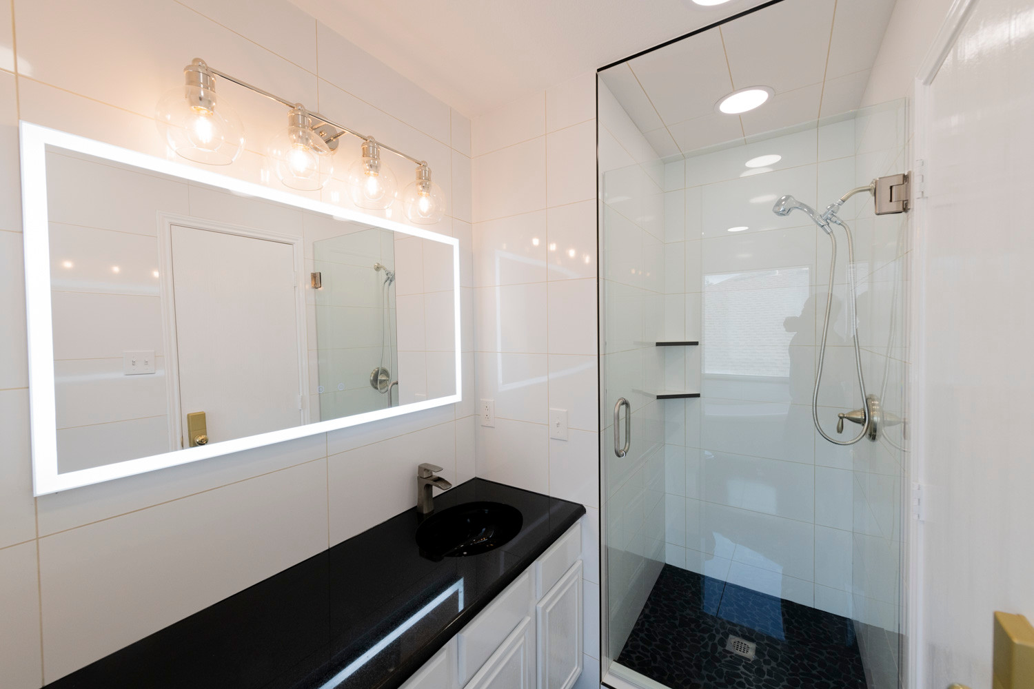 Dramatic Bathroom Remodel