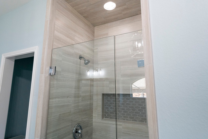 LED shower lighting