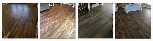 Grey Wood Look Tile Flooring