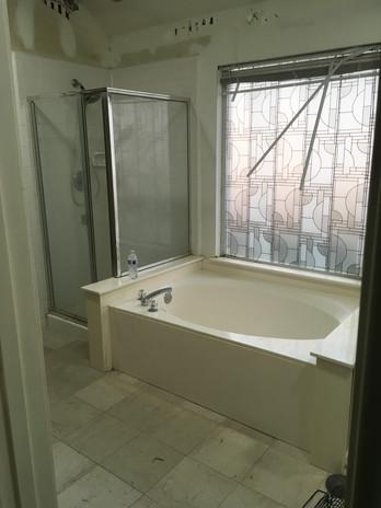 Before Keller Bathroom Remodel