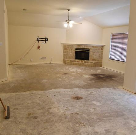 Flooring demolition