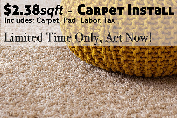 Carpet Installation Sale Dallas Fort Worth