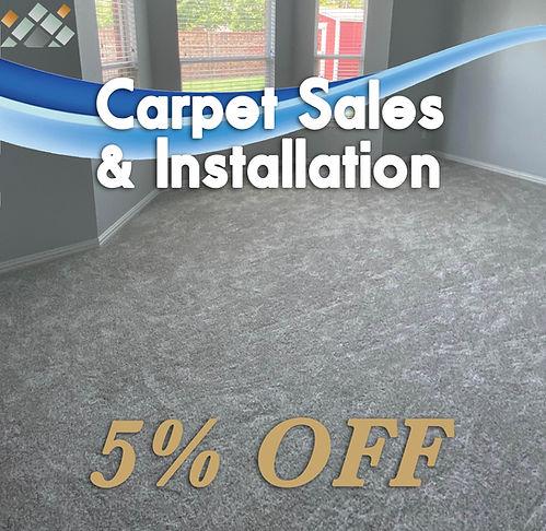 Carpet promotion and carpet discounts