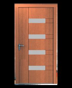 WOOD PANEL DOORS