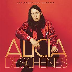 Alicia Deschênes_Pochette Vinyle_Les mauvaises langues.jpg