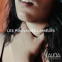 Pochette_Les mauvaises langues_Alicia De