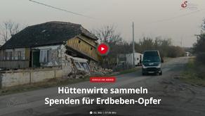 Hüttenwirte sammeln Spenden für Erdbebenopfer - Servus TV