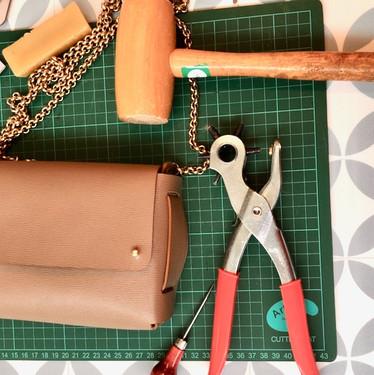 réaliser son sac en cuir
