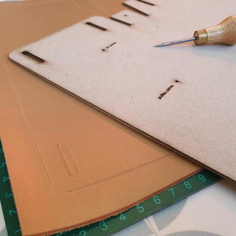 atelier petit sac en cuir