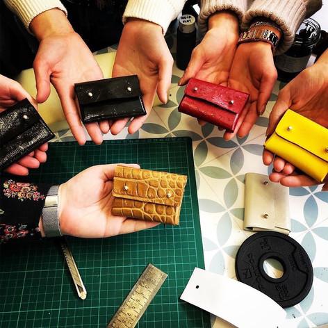 ateliers collectifs de travail du cuir