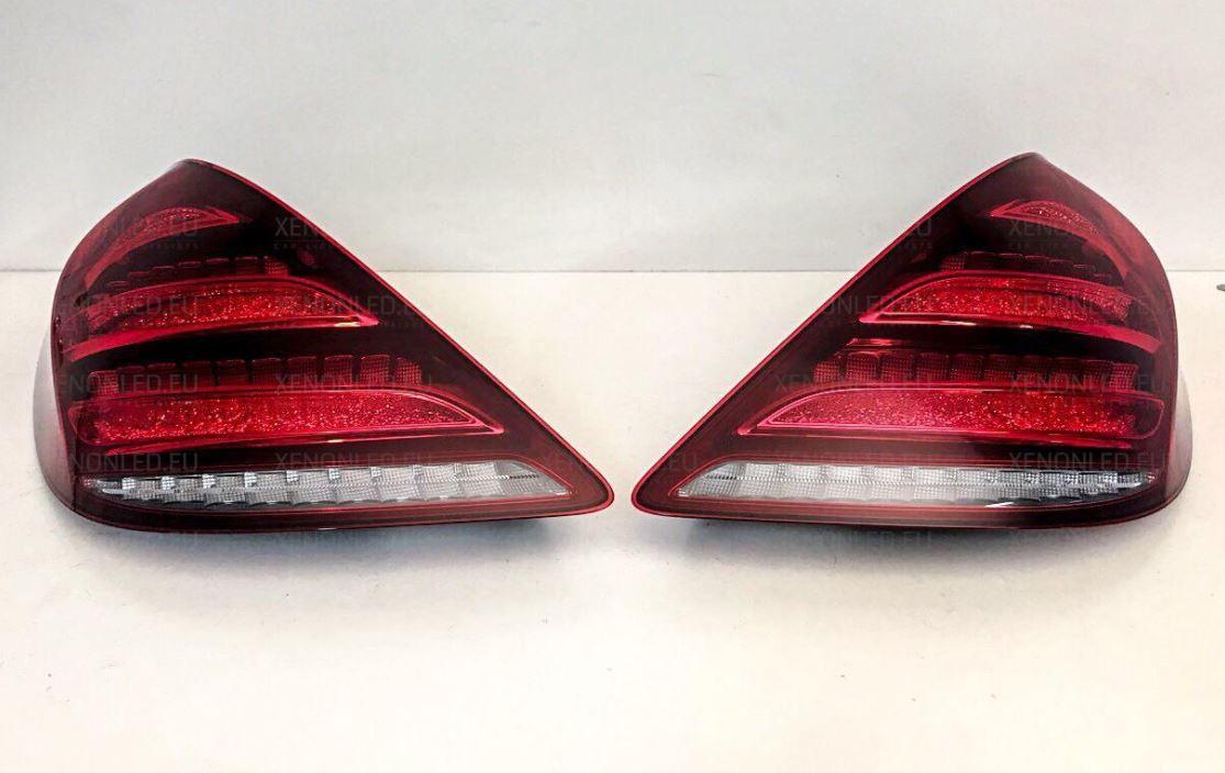 Afturljós Mercedes Benz