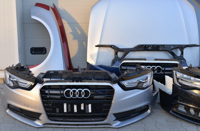 Audi framstuðara og húdd