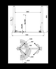 Bílalyftur SMART EQUIPMENT JH-4000F 1