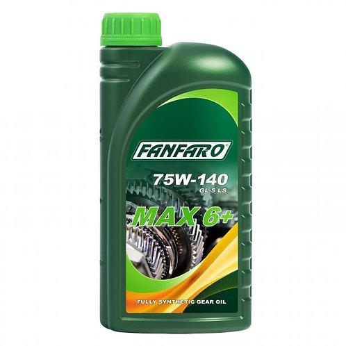 Fanfaro MAX 6+ Gírolía 75W-140 1L