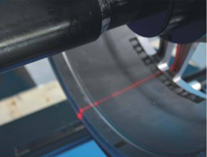 Balanceringarvél SMB25 lazer