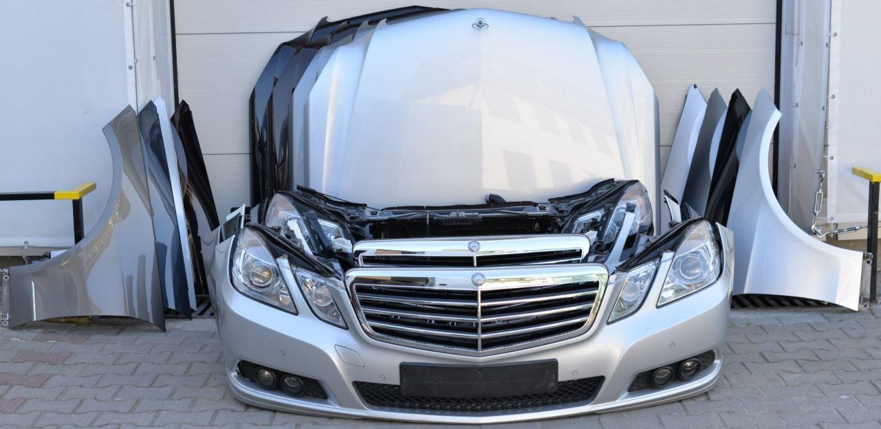 Mercedes Benz BMW framstuðara og húdd