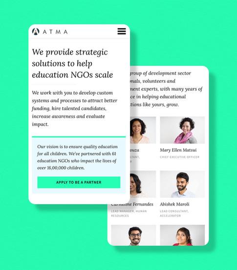 ATMA: Accelerator for NGOs