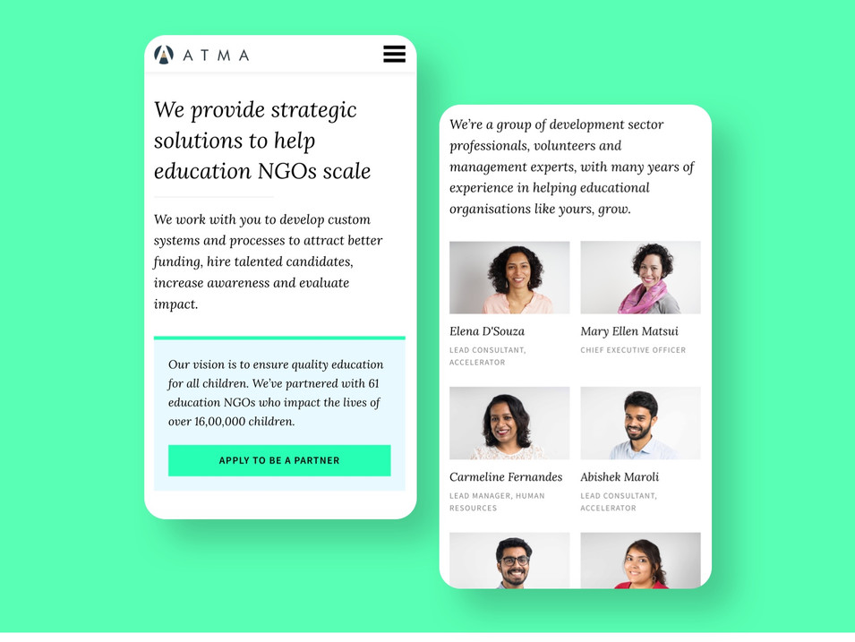Repositioning Atma's program offering to better connect with its consumers
