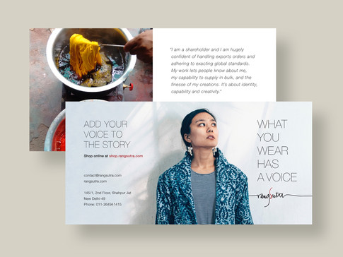 Articulating Rangsutra's brand voice to build deeper connection with its consumers