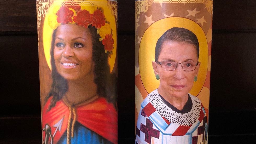 Notorious Women Prayer Candles