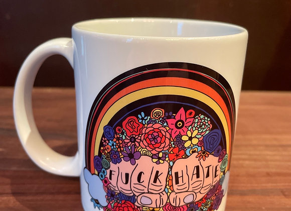 Fuck Hate Mug