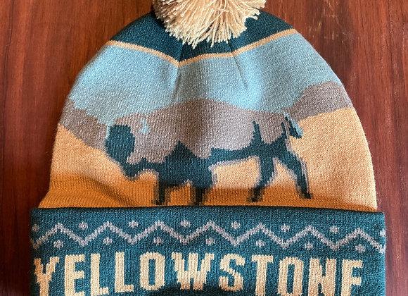 Yellowstone Pom Beanie