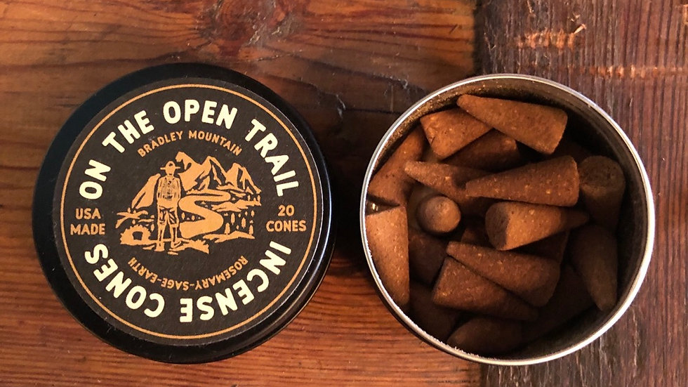 Open Trail Incense Cones