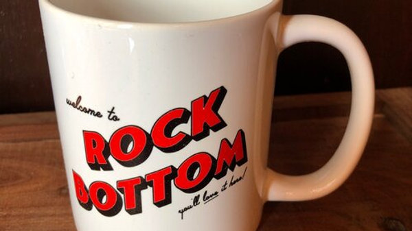 Rock Bottom Mug