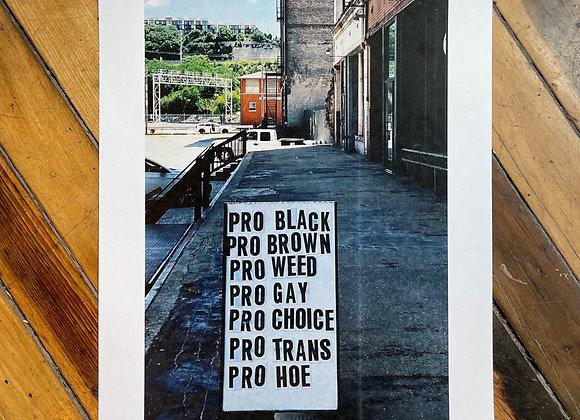 """PRO 11x17"""" Color Print"""