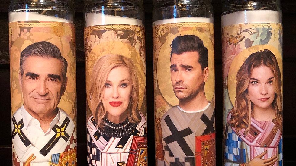 Schitts Creek Prayer Candles