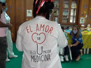 El amor es la mejor medicina, CDI Tejiendo Sueños entrega donación a pacientes con Cáncer en el HUV