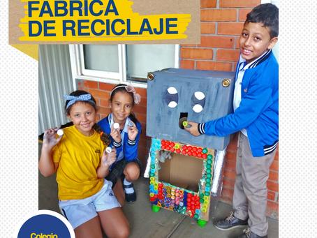 Fábrica de reciclaje, Open Project de 2º