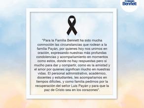 Condolencias Familia Payán