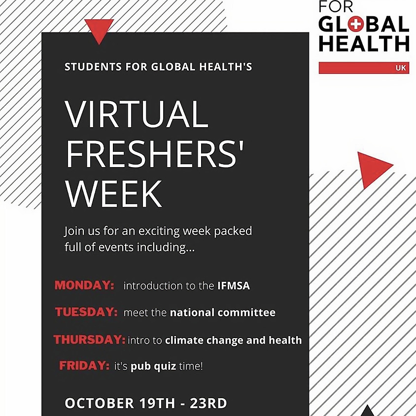 SfGH National Virtual Freshers' Week