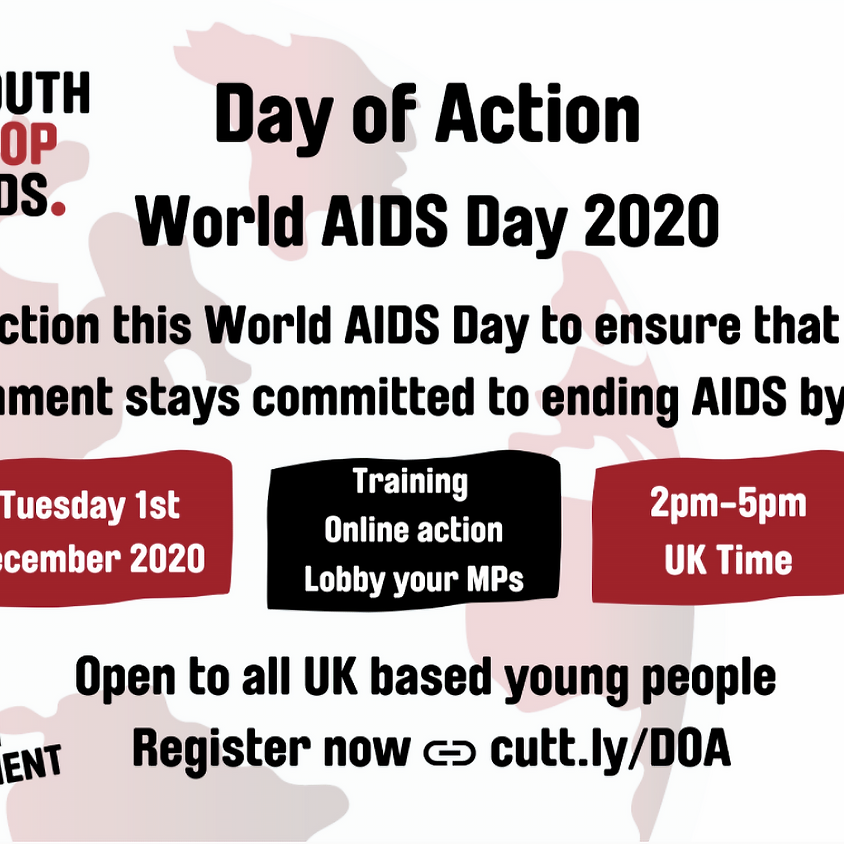 Youth Stop AIDS Virtual Day of Action