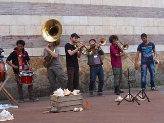 Zic Zazou's Brass Band Pacific Army