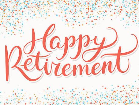 Retirement Means New Stuff