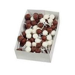 Sucettes au nougat et au chocolat