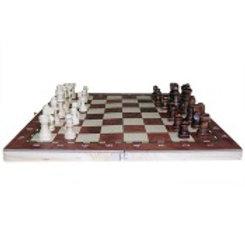 Jeu d'échecs & backgammon - 34 cm