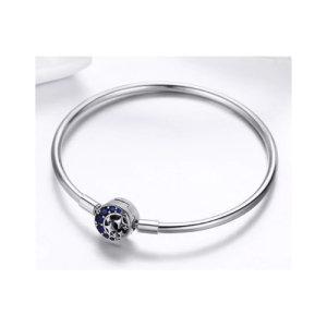 Charm bracelet in sterling silver 925
