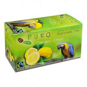 PURO, Fair-trade tea - Lemon