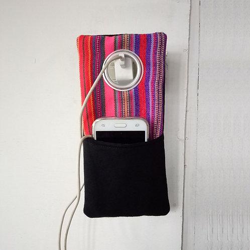 Hmong mobile charger bag