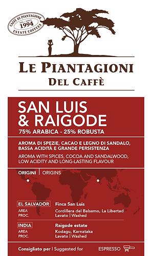 "Le Piantagioni Del Caffe, coffee ""San Luis & Raigode"""