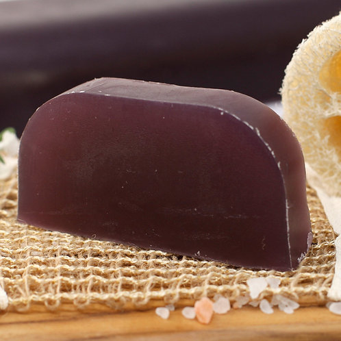 Solid shampoo with argan base - Lavender & rosemary (all hair types)