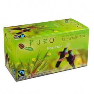 PURO, Fair-trade tea - Rooibos